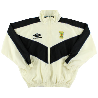 1993-94 Scotland Umbro Windbreaker Jacket L