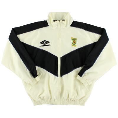 1993-94 Scotland Umbro Windbreaker Jacket L