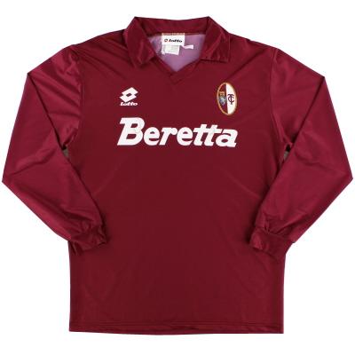 1993-94 Torino Home Shirt L/S M