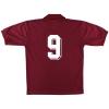 1993-94 Torino Match Issue Home Shirt #9 XL