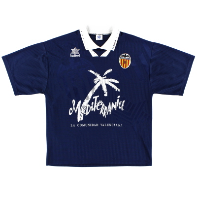 1993-94 Valencia Away Shirt L
