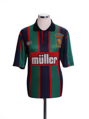 1993-95 Aston Villa Away Shirt 'Coca Cola Cup Final Winners' S