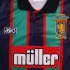 1993-95 Aston Villa Away Shirt 'Coca Cola Cup Final Winners' S