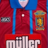 1993-95 Aston Villa Home Shirt 'Coca Cola Cup Final Winners' L