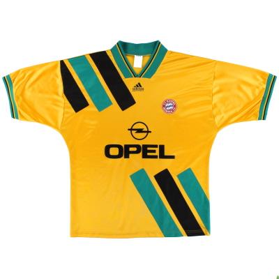 1993-95 Bayern Munich adidas Away Shirt S