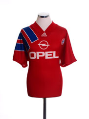 1993-95 Bayern Munich Home Shirt #10 S