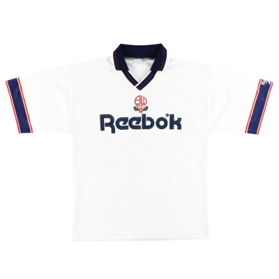 1993-95 Bolton Reebok Home Shirt