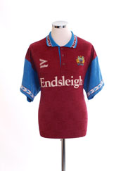 1993-95 Burnley Home Shirt XL