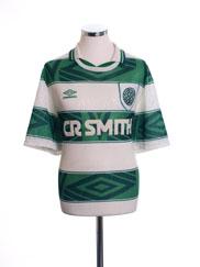 1993-95 Celtic Home Shirt L