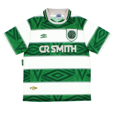1993-95 Celtic Umbro Home Shirt L