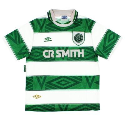1993-95 Celtic Umbro Home Shirt  XL