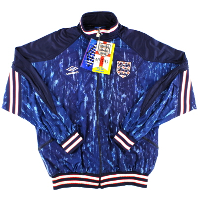 1993-95 England Umbro Track Jacket *w/tags* L