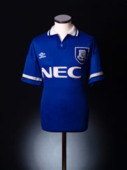 1993-95 Everton Home Shirt L