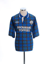1993-95 Greenock Morton Home Shirt *Mint* L