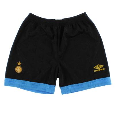 1993-95 Inter Milan Home Shorts S