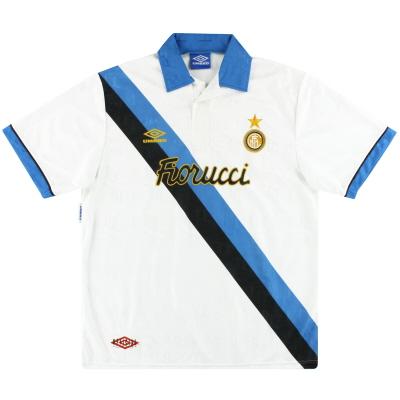 1993-95 Inter Milan Umbro Away Shirt XL