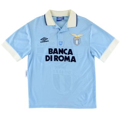 1993-95 Lazio Home Shirt S