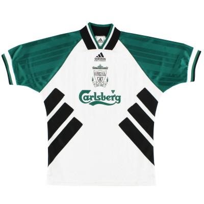 1993-95 Liverpool adidas Away Shirt L