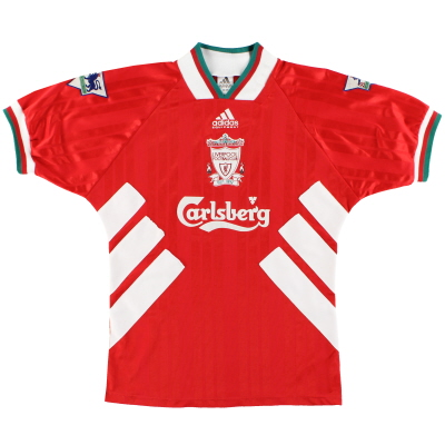 1993-95 Liverpool adidas Home Shirt *Mint* L