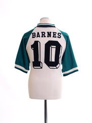 1993-95 Liverpool Away Shirt Barnes #10 L