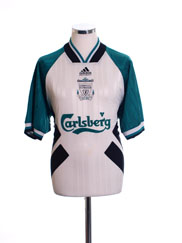 1993-95 Liverpool Away Shirt L