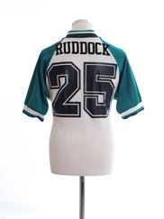 1993-95 Liverpool Away Shirt Ruddock #25 M