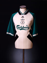 1993-95 Liverpool Away Shirt S