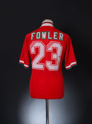 1993-95 Liverpool Home Shirt Fowler #23 M
