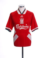 1993-95 Liverpool Home Shirt M