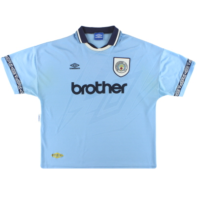 1993-95 Manchester City Umbro Home Shirt XXL