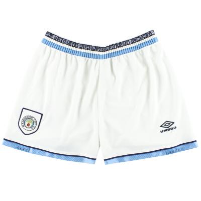 1993-95 Manchester City Umbro Home Shorts L