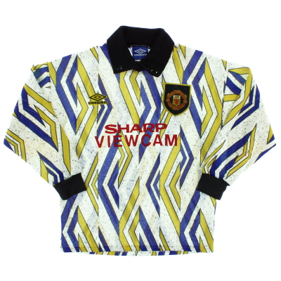1993-95 Manchester United Goalkeeper Shirt *Mint* XL