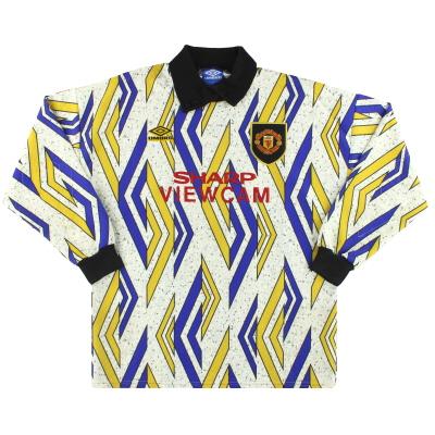 1993-95 Manchester United Umbro Goalkeeper Shirt *Mint* XL