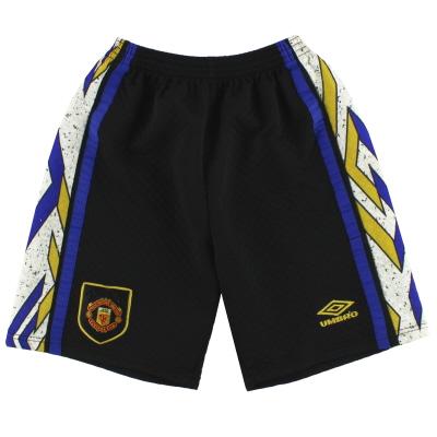 1993-95 Manchester United Umbro Goalkeeper Shorts M