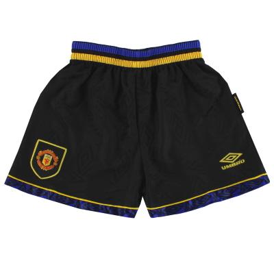 1993-95 Manchester United Umbro Away Shorts M