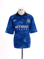 1993-95 Newcastle Away Shirt L