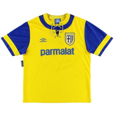 1993-95 Parma Away Shirt L