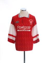1993-95 Rotherham Home Shirt L