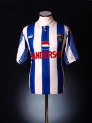 1993-95 Sheffield Wednesday Home Shirt XL