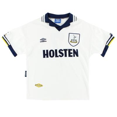 1993-95 Tottenham Umbro Home Shirt L