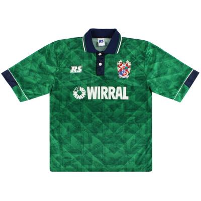 1993-95 Tranmere Rovers Away Shirt L