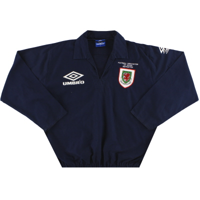 1993-95 Wales Umbro Instructor Drill Top XL