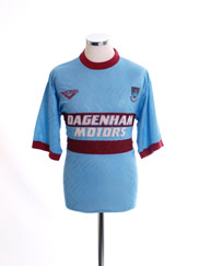 1993-95 West Ham Away Shirt S