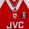1993 Arsenal 'FA Cup Winners' Home Shirt XL
