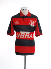 1993 Flamengo Home Shirt #10 L