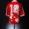 1993 Malta Match Worn Home Shirt #18 L