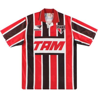 1993 Sao Paulo Away Shirt #10 XL