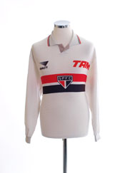 1993 Sao Paulo Home Shirt #10 L/S XL
