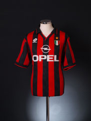 1994-95 AC Milan Home Shirt XL