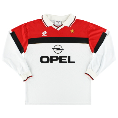 1994-95 AC Milan Lotto Away Shirt L/S L